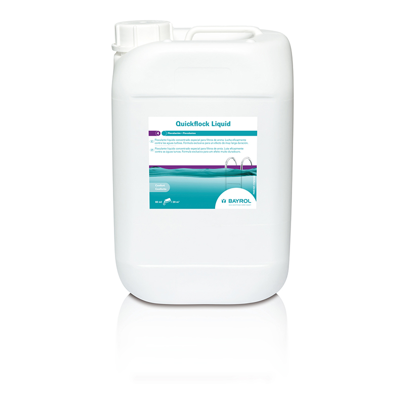 QuickFlock Liquid Floculante 5L Bayrol