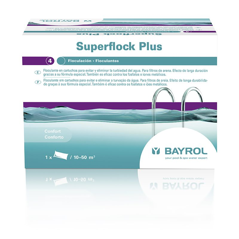 SuperFlock Plus Floculante saquito 1Kg Bayrol