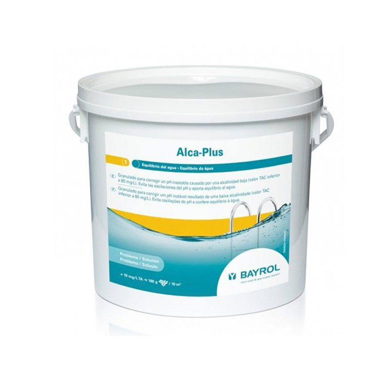 ALCAPLUS 10Kg incrementador de alcalinidad. Equilibrio de agua