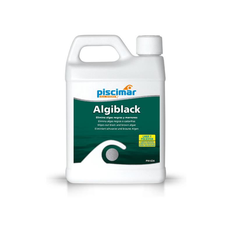 Algiblack 1 litro contra algas negras y marrones