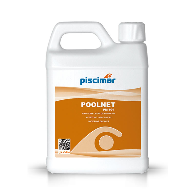 POOLNET 1L limpiador de líneas de flotación pm-101